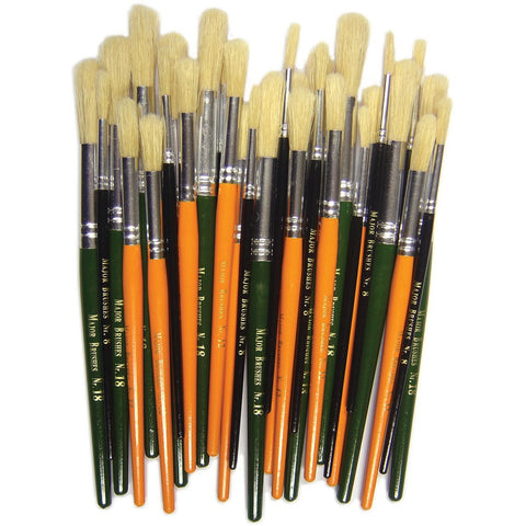 Round-Hog-Bristle-Paint-Brushes---Short-Handle-pk-30