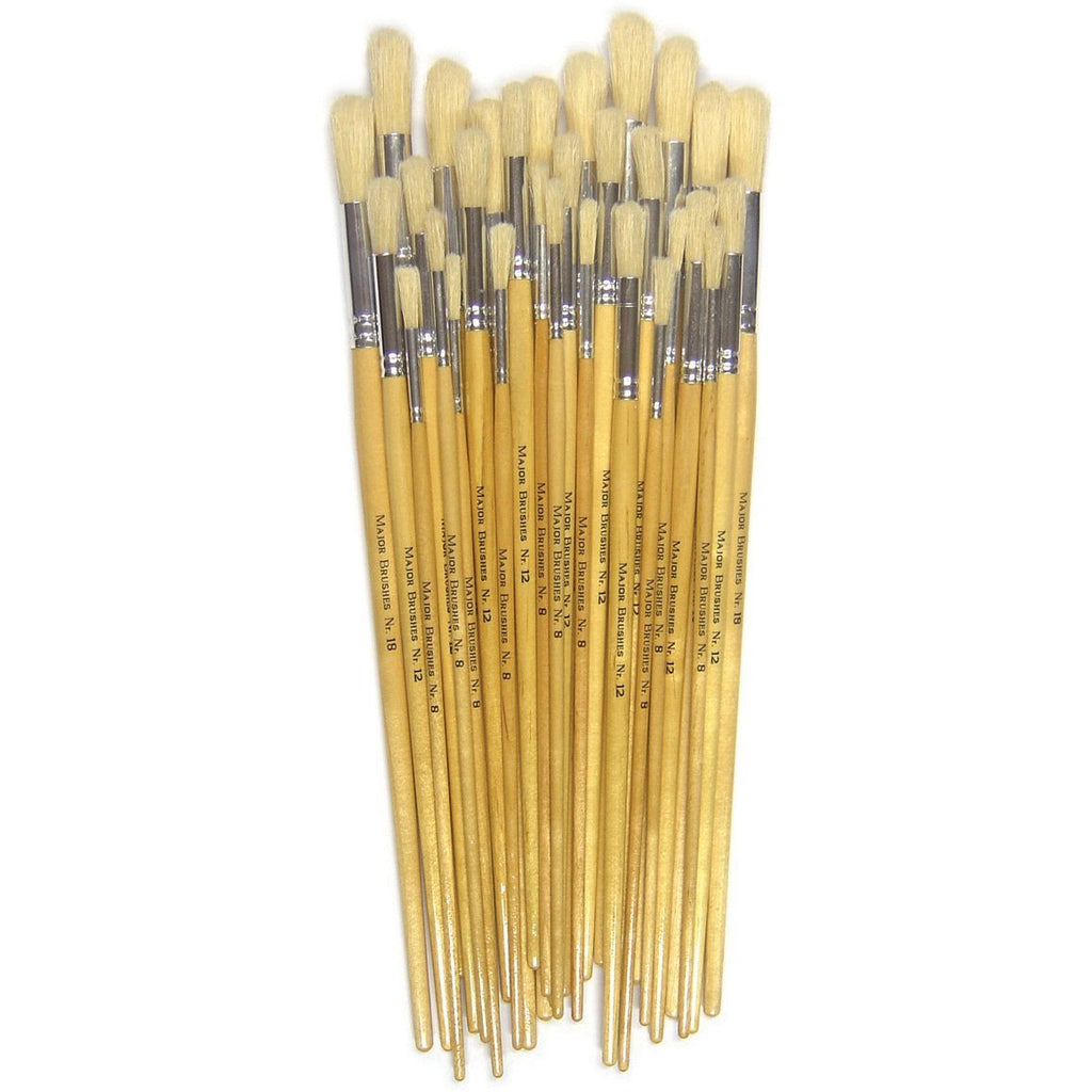Round-Hog-Bristle-Paint-Brushes---Long-Handle-pk-30