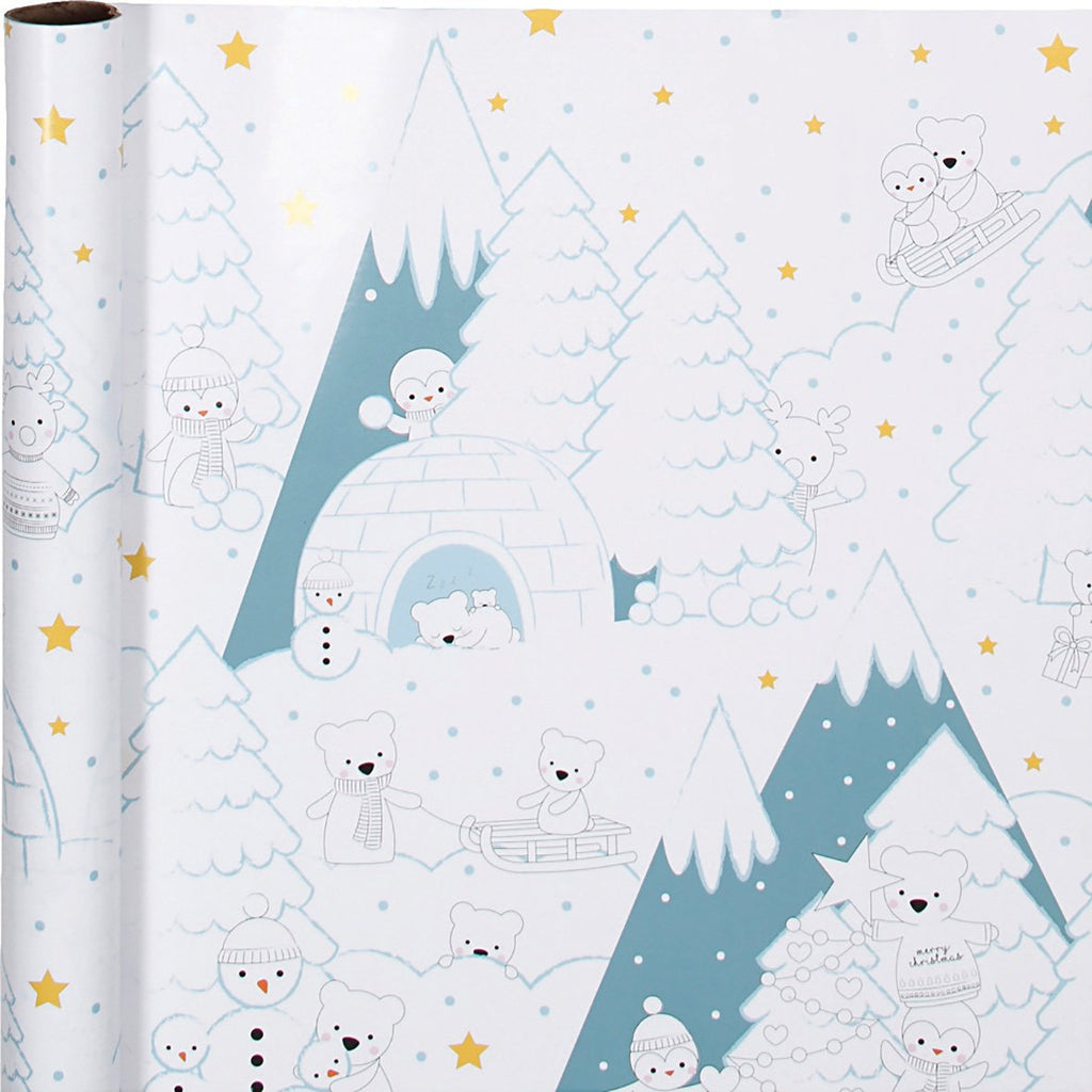 Colour-in Wrapping Paper 70cm x 4m