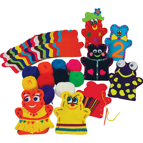 HomeCraftz Puppet Making Craft Kit