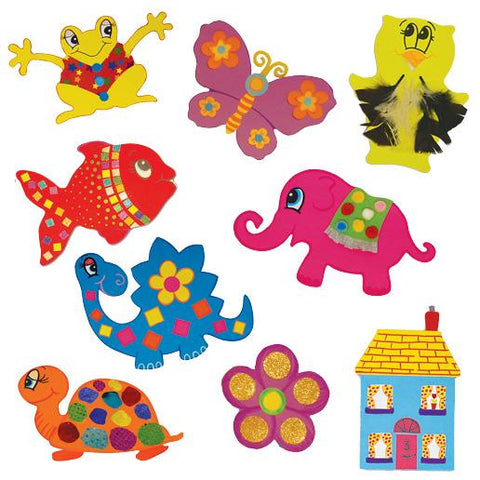 HomeCraftz Jumbo Paper Shape Assortment