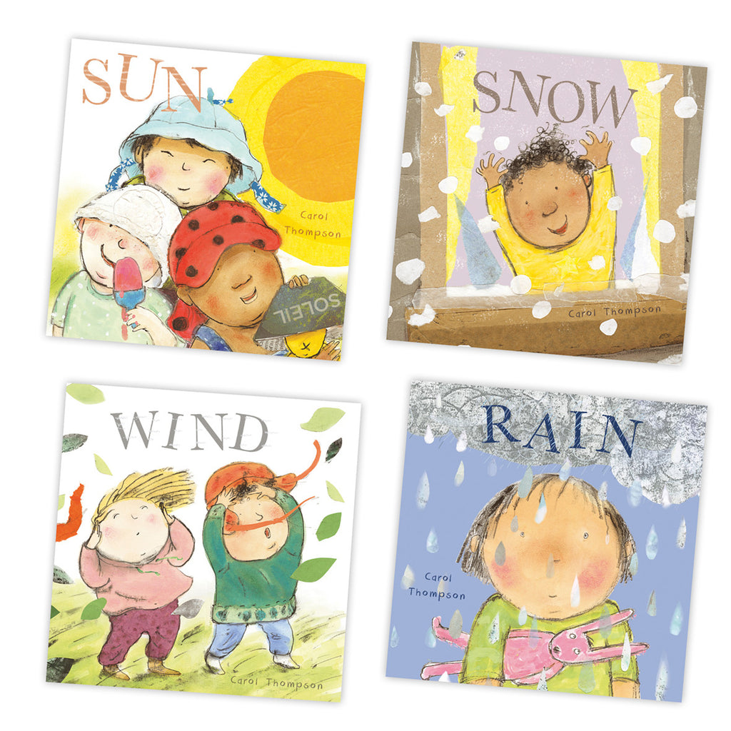 Whatever the Weather Book Set pk4