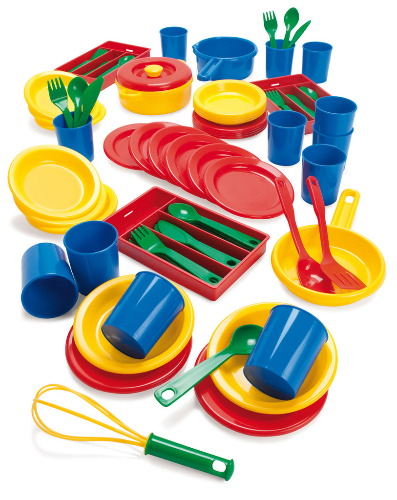 Plastic Kitchenware Bumper Set with Tray pk 81