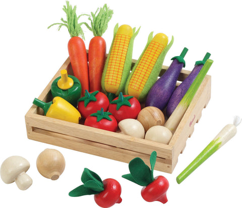 Wooden Vegetable Crate pk 20