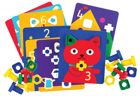Nuts and Bolts Activity Cards  pk 12