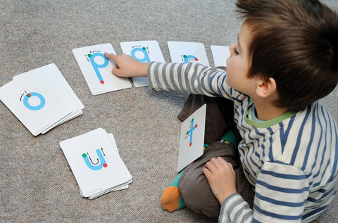 Tactile Lowercase Letter Cards pk 11