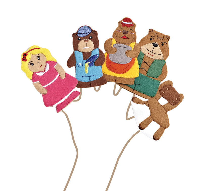 Goldilocks Finger Puppets pk 5
