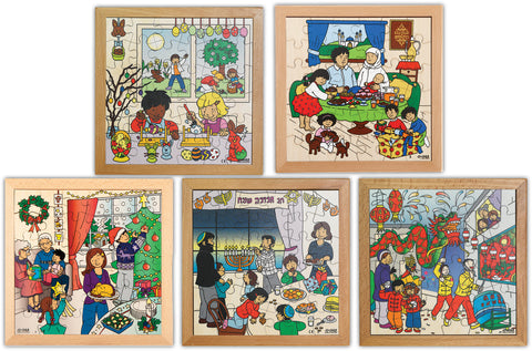 Festivals Jigsaw Set pk5