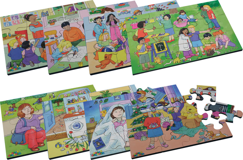 Emotions Jigsaws Set pk 8