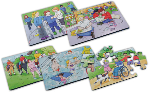Inclusion Jigsaws Set pk 6