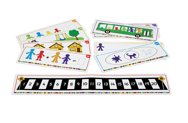 All About Me Family Counters Activity Cards pk21