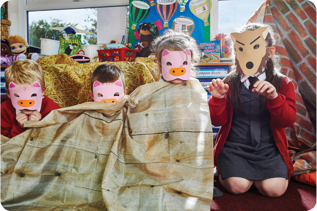 3 Little Pigs Den Making Pack