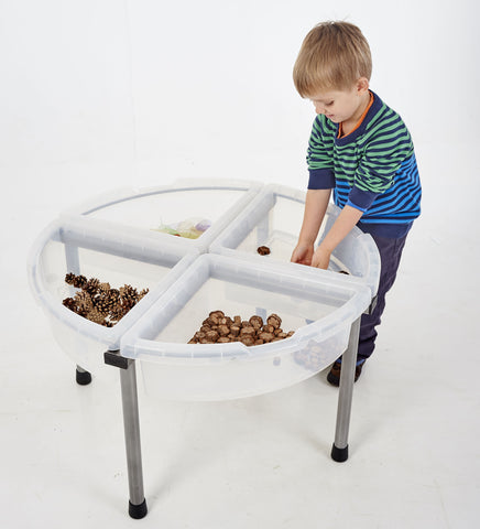 Circle Exploration Tray - Clear