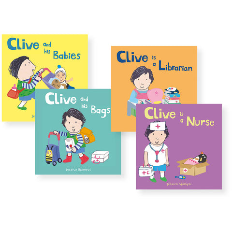 Clive Book Set pk 4