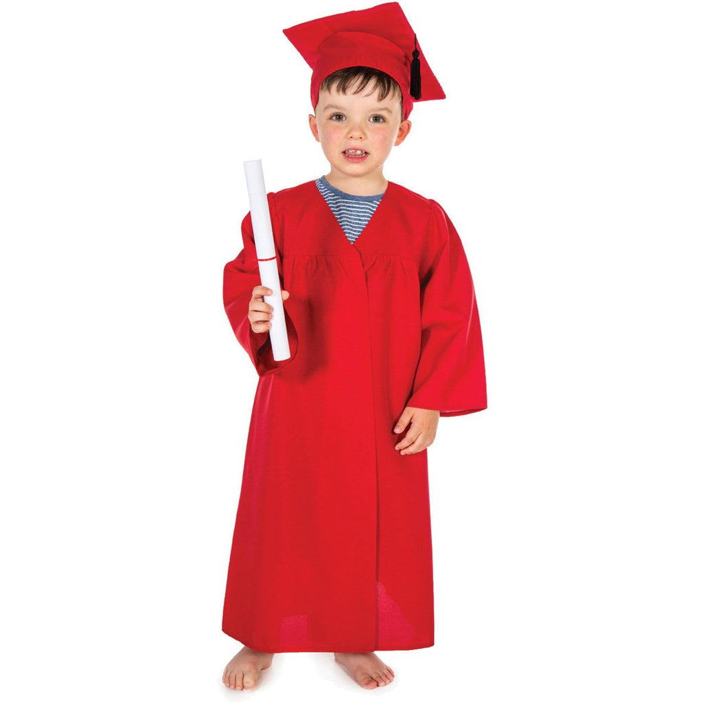 Graduation-Gown---Red-