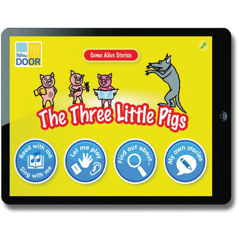 Come-Alive-Traditional-Tales-App---The-Three-Little-Pigs-(Single-Licence)-