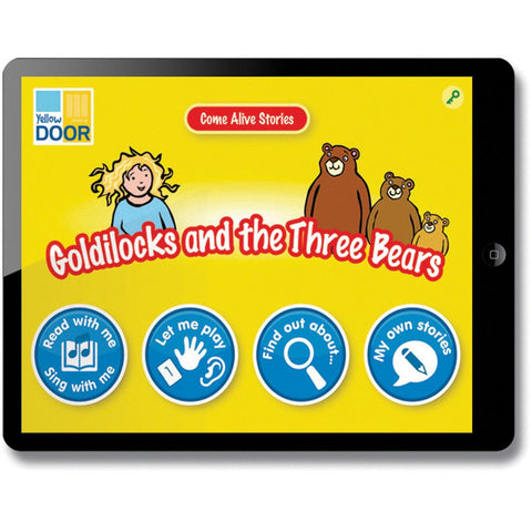 Come-Alive-Traditional-Tales-App---Goldilocks-and-the-Three-Bears-(Single-Licence)-