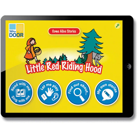 Come-Alive-Traditional-Tales-App---Little-Red-Riding-Hood-(Single-Licence)-