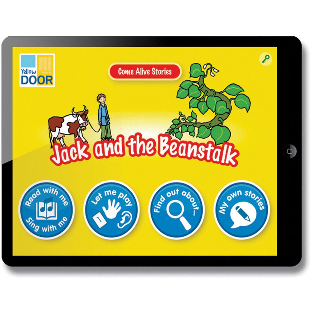 Come-Alive-Traditional-Tales-App---Jack-and-the-Beanstalk-(Single-Licence)-