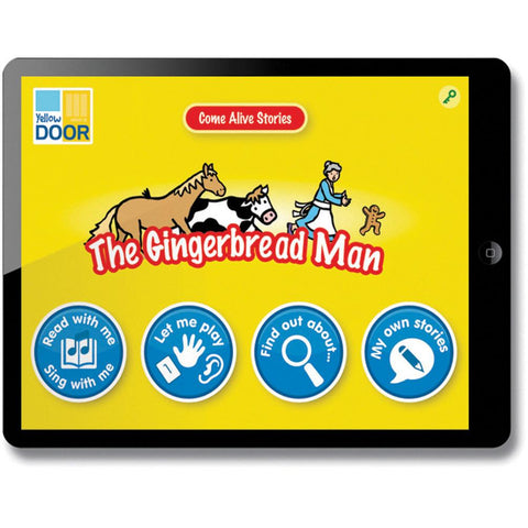 Come-Alive-Traditional-Tales-App---The-Gingerbread-Man-(Single-Licence)-