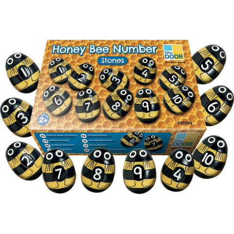 Honey-Bee-Number-Stones-pk-20
