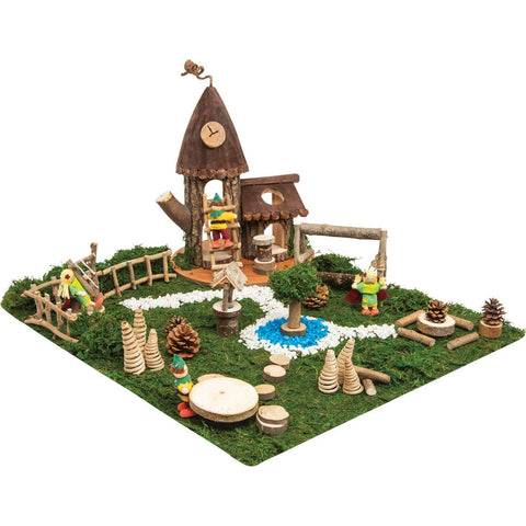 Enchanted-Village---Clock-Tower-Dwelling-Set