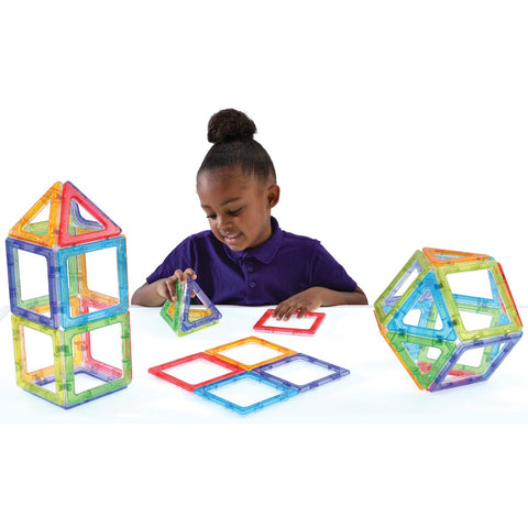 Crystal Megamag Polydron Set 36pc