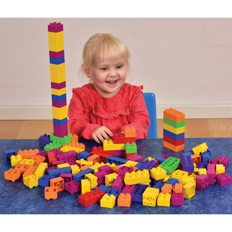 BiOBUDDi Construction Blocks 150pc
