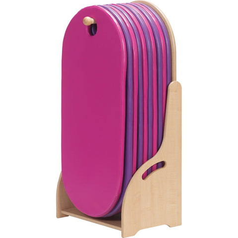 Floor Standing Slumberstore Sleep Mat Storage (Pink/Purple)