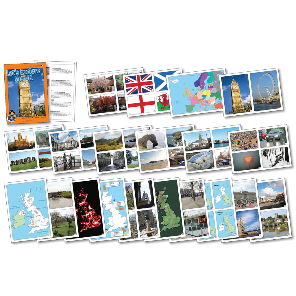 Let's Explore the UK Photopack pk 20