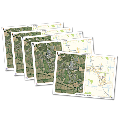 Our School Aeroimage Deskmats pk 5 pk 5