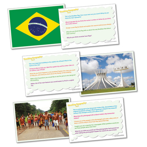 Thinking Cards - Brazil pk 20