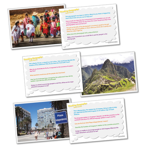 Thinking Cards - South America pk 20