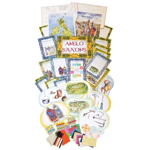 Anglo-Saxons History Display Pack