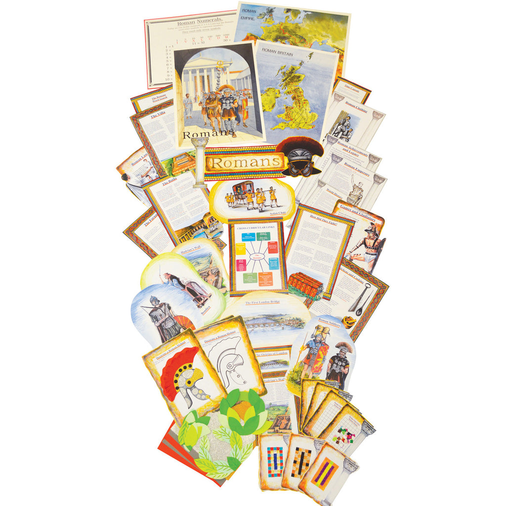 Roman Empire History Display Pack