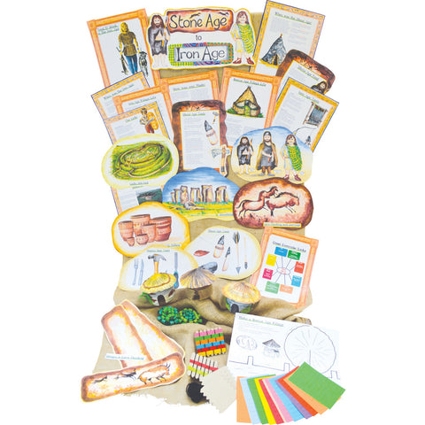Stone Age to Iron Age History Display Pack