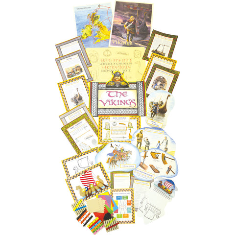 Vikings History Display Pack