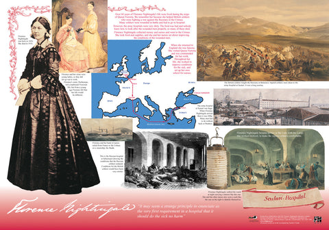 Florence Nightingale Poster & Teachers Guide