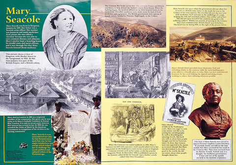 Mary Seacole Poster & Teachers guide