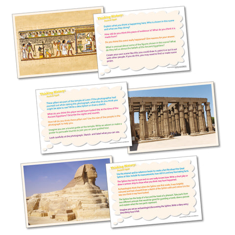 Thinking Cards - Ancient Egypt pk 20