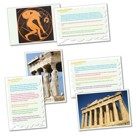 Thinking Cards - Ancient Greece pk 20