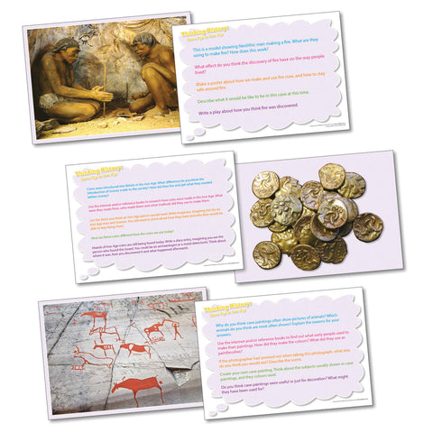Thinking Cards - Stone Age to Iron Age pk 20