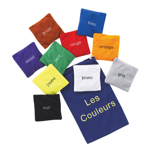 Colour Bean Bags - French pk 10