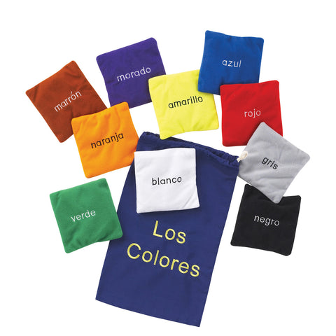 Colour Bean Bags - Spanish pk 10