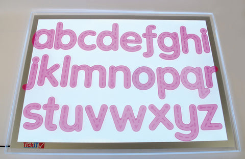 SiliShapes Tactile Alphabet Tracers pk 26