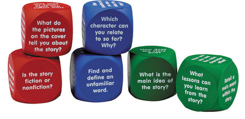 Reading Comprehension Cubes pk6