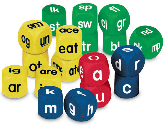 Phonics Cubes Set pk18