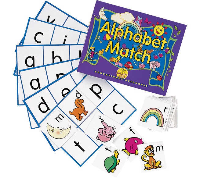 Alphabet Match Bingo
