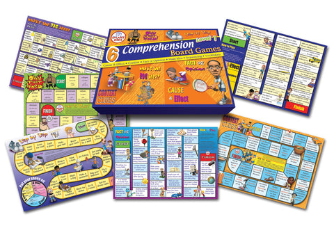 Comprehension Board Games Level 1
