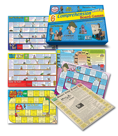 Comprehension Board Games Level 2